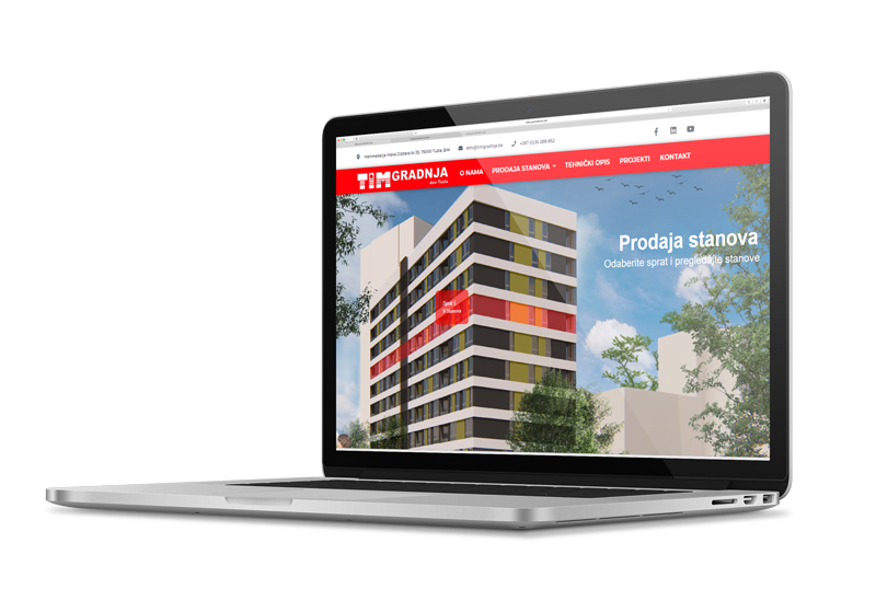 Aplikacija za prodaju stanova ED-Vision
